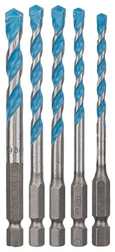 Bosch Professional 2608589530 2 608 589 530 Multifunctionele Boor Hex-9 Multi Construction Set 5-Delig, Meerkleurig