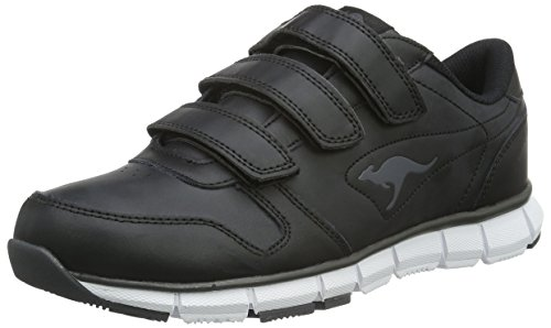 KangaROOS Unisex K-bluerun 700 V B Sneakers, Black Dark Grey 0522, 42 EU