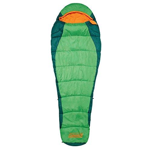 Coleman Fision Camping Mummieslaapzak, volwassenen, lichte zomerslaapzak, outdoor en indoor te gebruiken, 208 x 91/45 cm