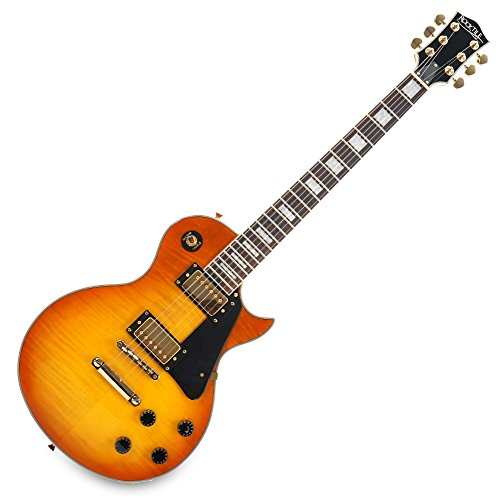 Rocktile Pro L-200OHB elektrische gitaar oranje Honey Burst