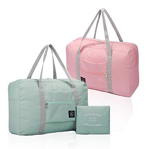 Opvouwbare reistas, waterdichte handbagagetas, lichte reistas voor sport, fitness, vakantie