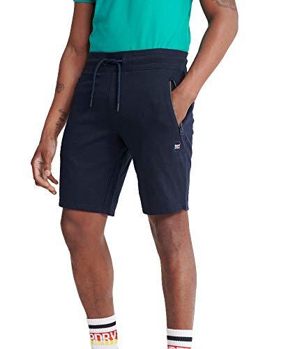 Superdry Heren Collectief Short, Blauw (Rich Navy Adq), XL