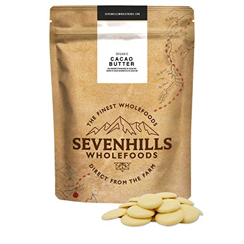 Sevenhills Wholefoods Bio Cacao/Cacaoboter, Wafels, 1kg