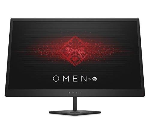 HP Omen 25 (24,5 inch/FHD 144Hz) Gaming Monitor (AMD FreeSync, 2 x HDMI, 1 x Displayport, 3 x USB 3.0, Audio Out, 1920 X 1080, Responstijd 1 ms) Zwart
