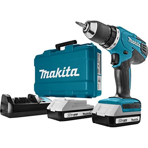 Makita, Df457DWE, Accu-Schroefboormachine, 18 V, Blauw