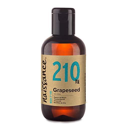 Naissance Grapeseed Oil (nr. 210) 100ml - Natuurlijke moisturiser en conditioner voor haar en huid