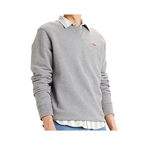 Levi's Heren Crew Sweatshirt, Chisel Grey Heather, S