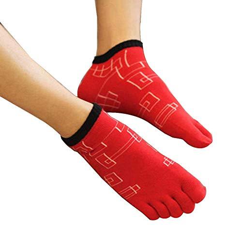 Heren vijf vingers sokken Vijf teen sokken Sportsokken [F]