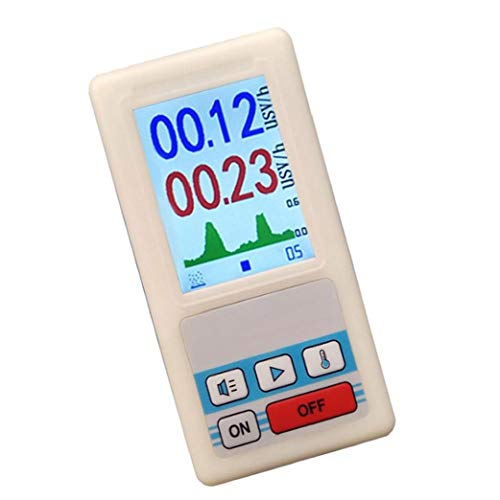 Geigerteller Handheld nucleaire straling Detector Portable Digital Beta Gamma Dosimeter TesterStable pe ormance, hoge precisie, makkelijk om het meetinstrument te dragen