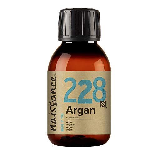 Naissance Marokkaanse arganolie (nr. 228) 100 ml - puur en natuurlijk - verzorgingsolie voor gezicht, huid, haar, baard en nagelriemen