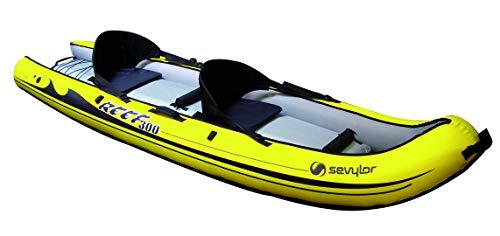 SEVYLOR kano opblaasbaar Reef - set op top kajak, Canades, verschillende uitvoeringen voor 1 & 2 personen