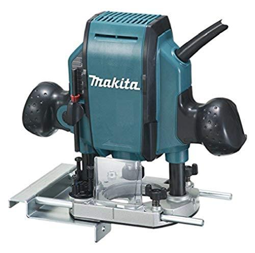 Makita RP0900 3 Blads Kortingsrouter, 900 W, Blauw en Zwart