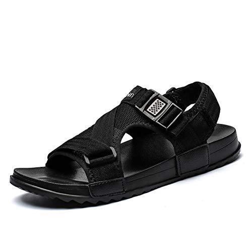 Tanxianlu Zomerschoenen, mannen, sandalen, strand, casual, herenschoenen, zwarte schoenen, paar schoenen