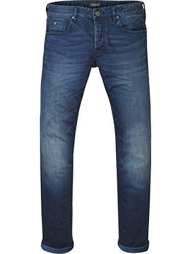 Scotch & Soda Ralston Regular Slim Fit voor heren, blauw (Winter Spirit 5C), 34W x 32L