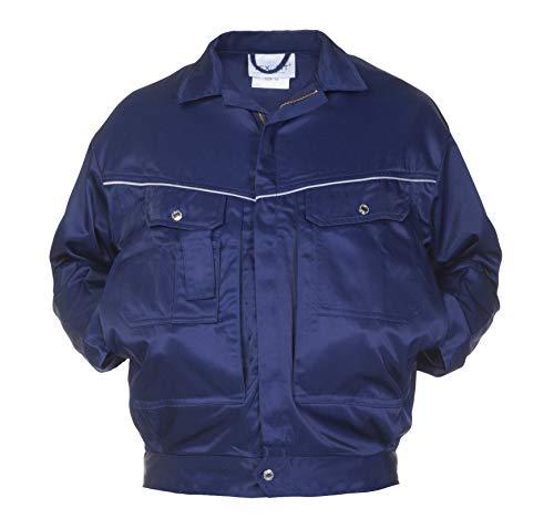 Hydrowear 045460 Dover zomerjas, Bever, 50% Polyester/50% Katoen, 64 Maten, Navy