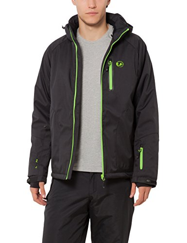 Ultrasport Everest met Ultraflow 10.000, Heren Softshell jas, zwart, klein