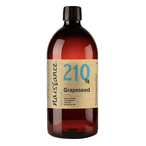 Naissance Grapeseed Oil (nr. 210) 1 liter - Natuurlijke moisturiser en conditioner voor haar en huid