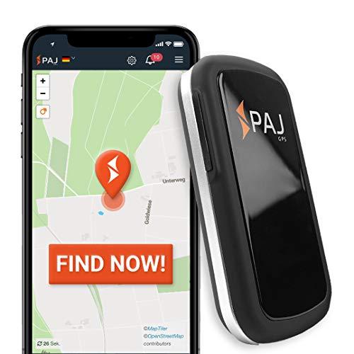 PAJ GPS Allround Finder GPS tracker - Persoonlijke GPS-tracker-apparaten voor realtime positionering - Diefstalbeveiliging: lokaliseer auto's, motorfietsen, bagage, mensen en meer - Duits merk