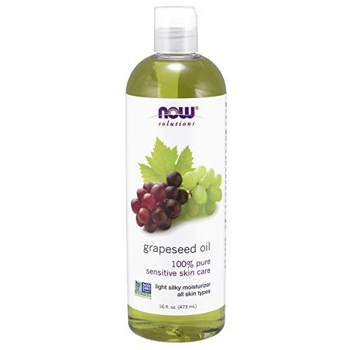 Now Foods Solutions I grape zaadolie (druivenpitolie) I voor huidverzorging I 473 ml vloeibaar