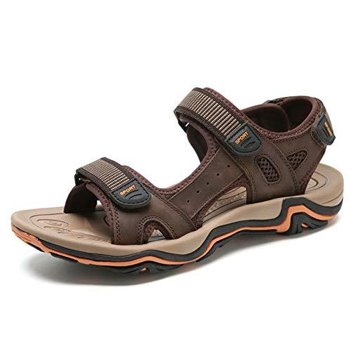 Tanxianlu outdoorsandalen bruin zwart zomerschoenen heren casual sandalen van rubber zool antislip