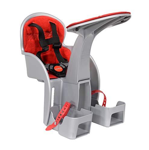 WeeRide 98072e SafeFront Classic fietszitje voor baby, grijs