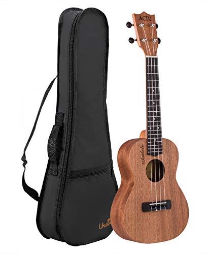 Professional 23 Inch Concert Ukulele for Child Mahogany Rosewood Small Child Guitar for Kids Ukulele Beginner