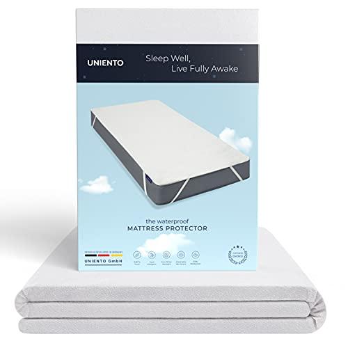 Matrasbeschermer 180x200cm waterdichte matras ademende hoofdkussenbeschermer katoen
