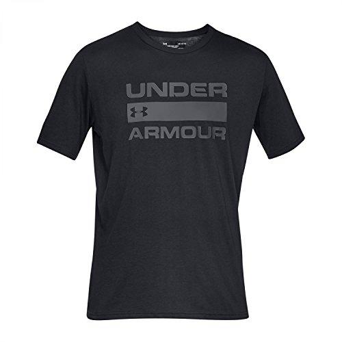 Under Armour Ua Team Issue Wordmark Short Sleeve voor heren, ademend sportshirt, korte mouwen en comfortabel functioneel shirt met losse pasvorm