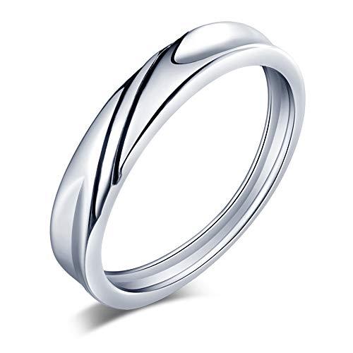 CPSLOVE Kinderen Damen Herren Unisex 925 sterling zilver zilver (mannen) Zirkonia