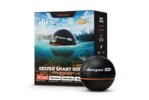 deeper Pro WiFi Plus GPS Draagbare Sonar-Zwart, 6,5 cm
