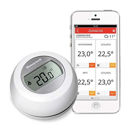 Honeywell Home evohome radio-thermostaat, T87RF2059, werkt met Amazon Alexa