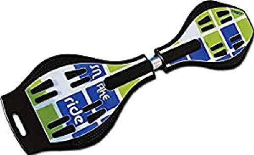 TRULY Waveboard TRULY, blauw/groen, 84x22x15cm