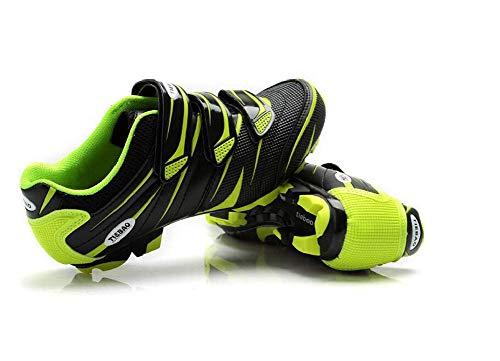 Mountainbike fietsschoenen MTB-schoenen voor mannen/vrouwen, ademend, antislip, compatibel Shimano SPD-systeem - 38 EU