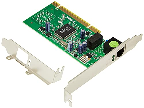 D-Link DGE-528T netwerkkaart, Gigabit Ethernet-adapter (10/100/1000 Mbit/s, PCI bus 2.2, 32 bits)