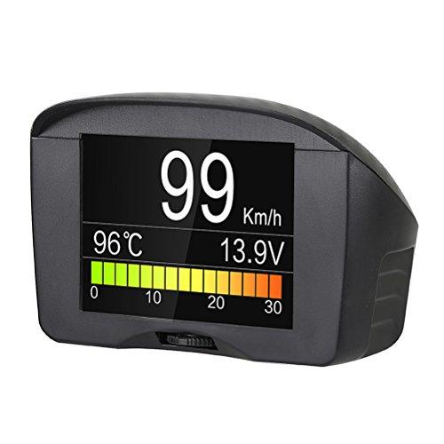 AUTOOL X50 PLUS Auto Hud Display Snelheidsmeter Code Scanner Automotive Head Up Display Smart Digitale Meter Alarm Fout Code Water Temperatuurmeter Digitale Spanning Voor 12 V OBDII Diesel Benzine Voertuigen