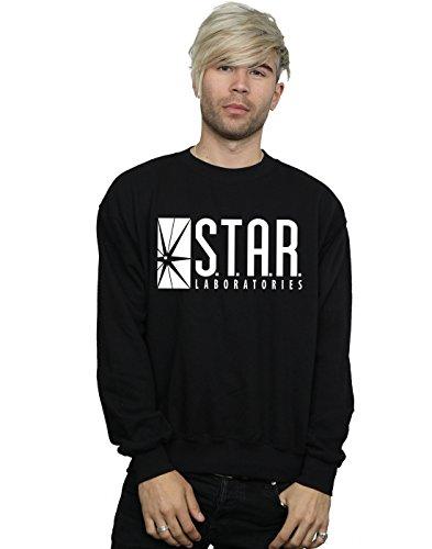 DC Comics Heren The Flash Star Labs Sweatshirt - zwart - S