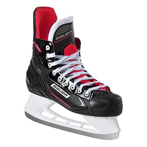 Bauer NSX schaatsen, heren, zwart-rood, 40.5