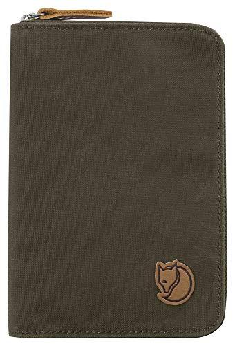 Fjällräven Paspoort portemonnee, Dark Olive, 15 cm