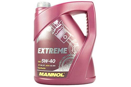 MANNOL motorolie Extreme 5W-40 API SN/CF, 5 liter