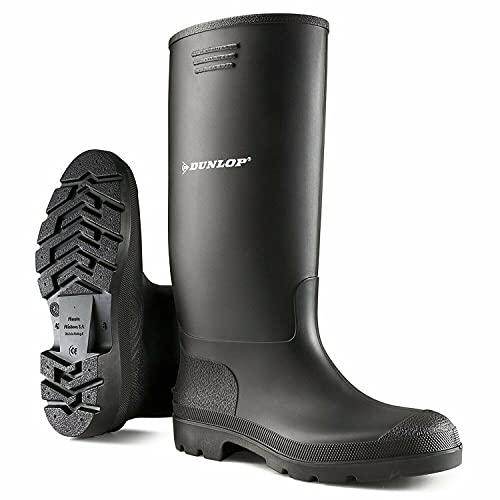 Rubberen laarzen voor dames en heren, volledig waterdicht, voor sneeuw, regen en modder.