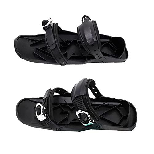 Mini Ski Skates Outdoor Sports Mini Ski Schoenen Korte Skiboard Snowblades Verstelbare Sneeuwschoenen Verstelbare Skiën Sportuitrusting