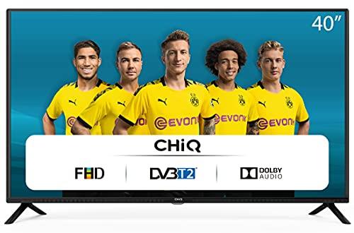 CHiQ L40G4500 40 inch Full HD LED LCD TV 40 inch (101 cm), titeltuner (DVBT/T2/C/S2), multimediaspeler via USB-poort TV, Dolby Audio,3 HDMI, 2 USB, Direct LED