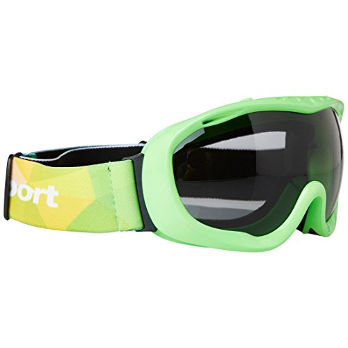Ultrasport skibril/snowboarding bril met anti-mist lens