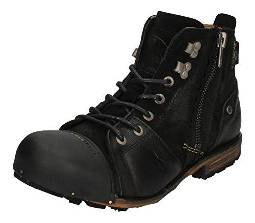YELLOW CAB Shoes - Boots INDUSTRIAL 15419 - black, Maat:44 EU