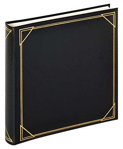 walther design MX-200-B Classic album Standaard, fotoalbum, zwart, 30 x 30 cm