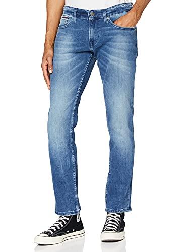 Tommy Jeans Scanton Slim Jeans voor heren,Blau (Berry Mid Blue Comfort 911),36W x 34L
