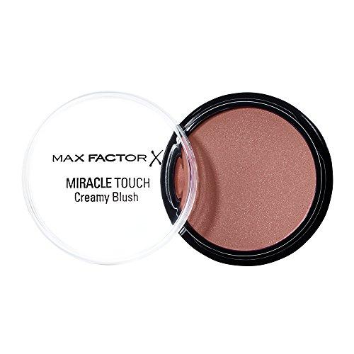 Max Factor Miracle Touch Creamy Blush Soft Copper 3 Rouge van een romige textuur, voor een natuurlijk frisse look, kleur bruin-rood, 1 x 12 ml