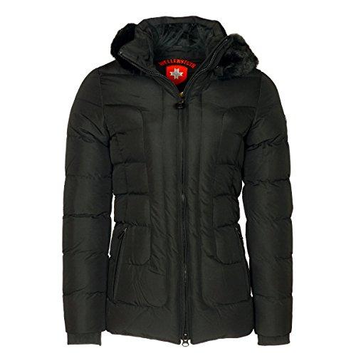 Wellensteyn Dames Belvedere Jas, zwart, XL