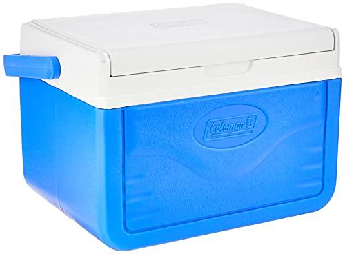 Coleman Unisex Volwassen Performance 6 personal koelbox, passieve kleine thermobox voor eten en dranken, ijsbox met handgreep, blauw/wit, één maat
