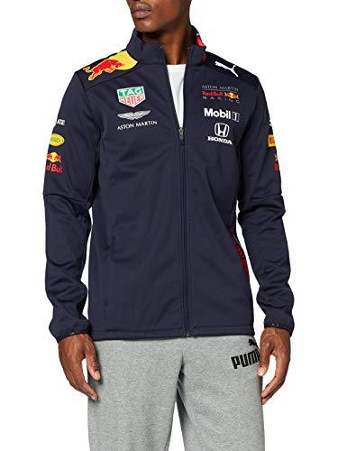 Puma Heren Aston Martin Red Bull Racing Team Softshell Jacket 2019, S Jacket, Blauw (Navy Navy), Small (Manufacturer Maat: S)